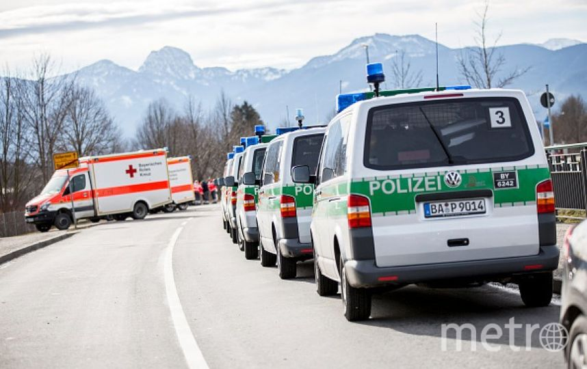Полиция Баварии. Фото Getty