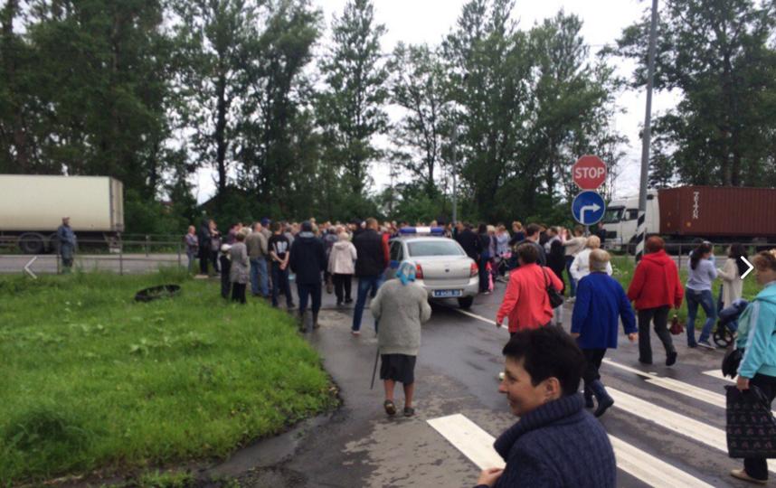 """Митинг в Клину. Фото Сообщество во """"ВКонтакте"""" """"Подслушано в Клину"""""""