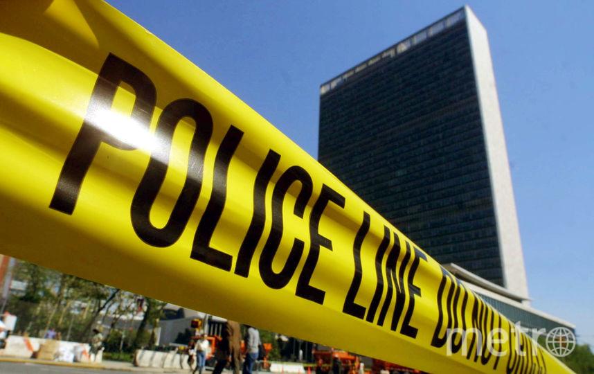 Полицейская линия. Фото Getty