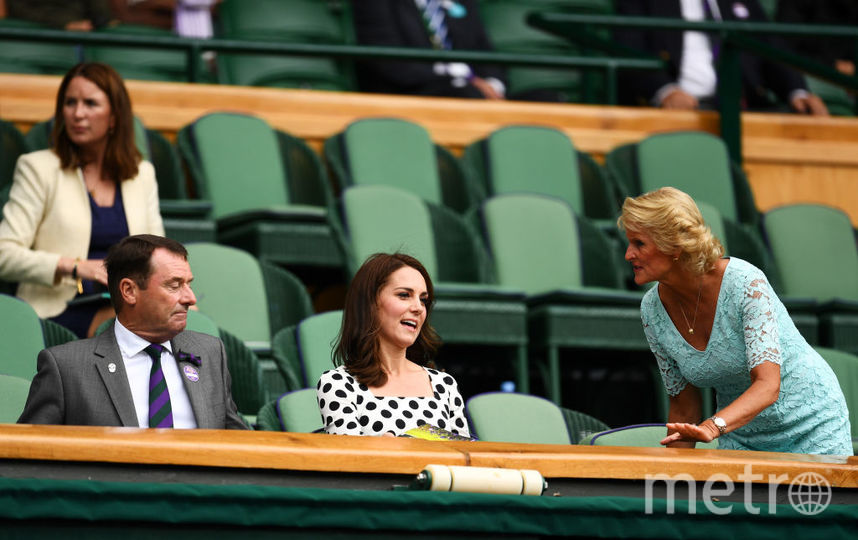Кейт Миддлтон появилась на Уимблдоне в новом образе. Фото Getty