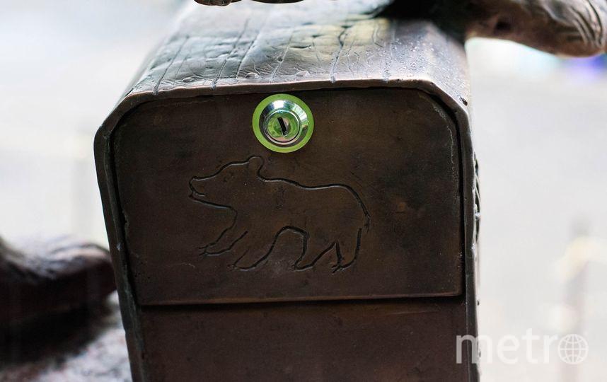 Сеня теперь отвечает за почтовый ящик. Фото Предоставлено центром