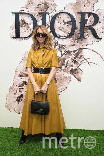 Звёзды в Париже на выставке Dior. Селин Дион. Фото Getty