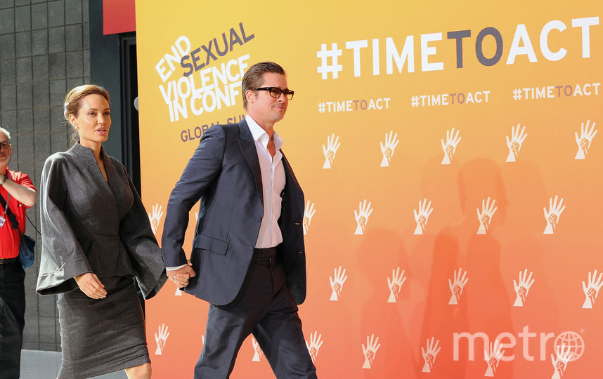 СМИ: Анджелина Джоли и Брэд Питт снова вместе. Фото Getty