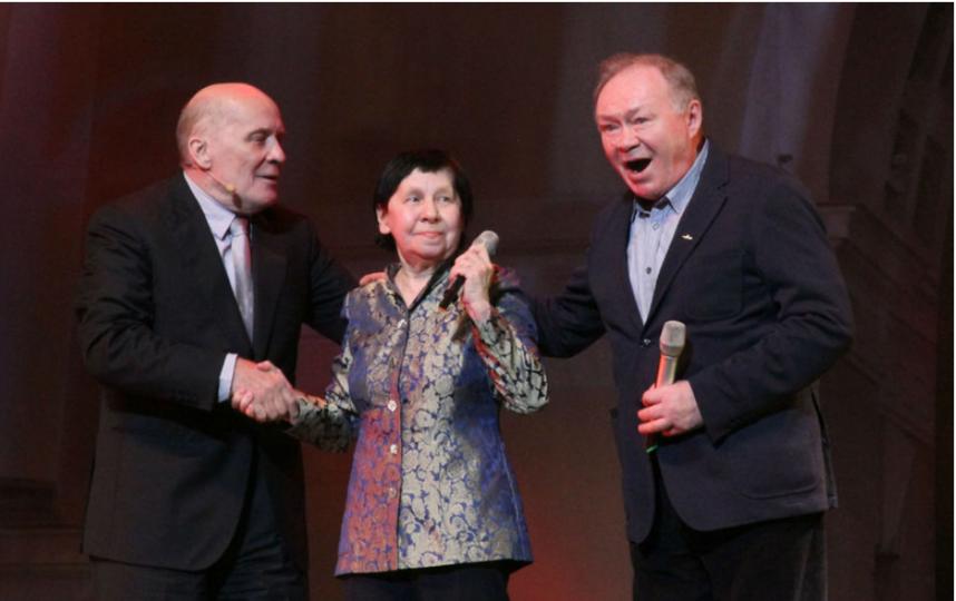 Светлана Кармалита в мае 2015 года на сцене БКЗ Октябрьский. Фото архив Metro