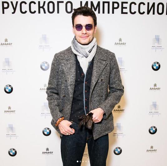 Актёр Максим Матвеев. Фото instagram Максима Матвеева.