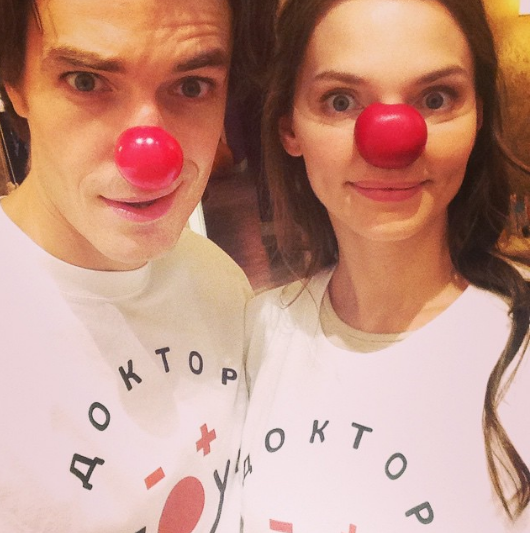 Актёр Максим Матвеев с женой Елизаветой Боярской. Фото instagram Максима Матвеева.