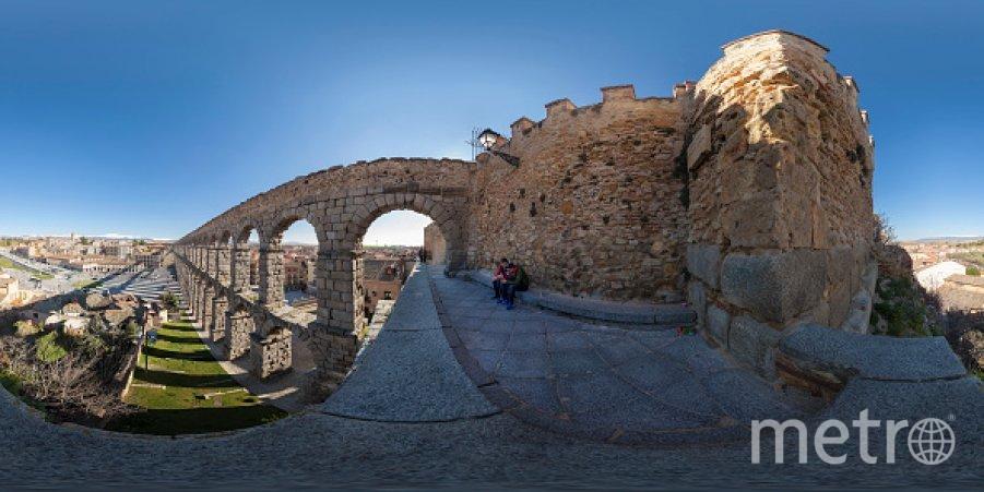 Римский акведук в Сеговии (Испания). Фото Getty