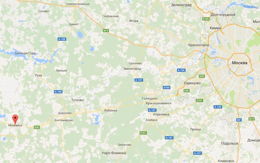 В подмосковном Можайске уже месяц нет горячей воды. Фото google.ru/maps