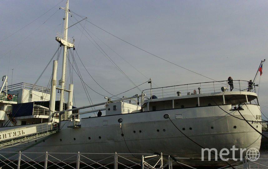 """Научно-исследовательское судно """"Витязь"""", Музей Мирового океана. Фото Анна Егорцева, """"Metro"""""""