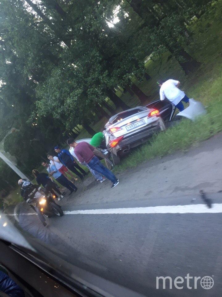 В страшном ДТП в Петербурге автоледи потеряла ребёнка. Фото Все - vk.com/spb_today