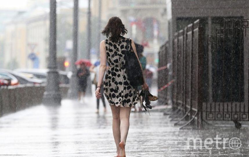 Гроза в Москве. Фото Getty