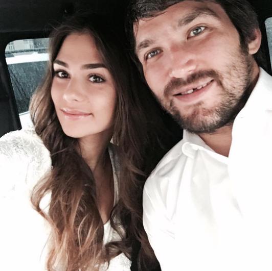 Анастасия и Александр в день свадьбы. Фото Instagram Анастасии Шубской.
