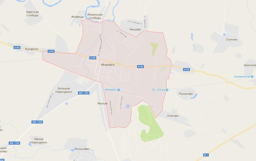 Жителям Можайского района пообещали включить горячую воду. Фото google.ru/maps