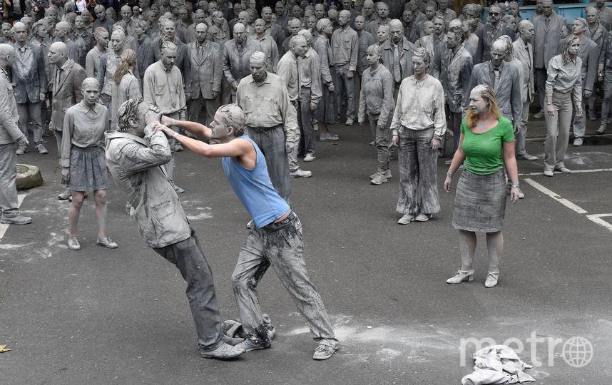 Демонстрации против G20 в Гамбурге. Фото AFP