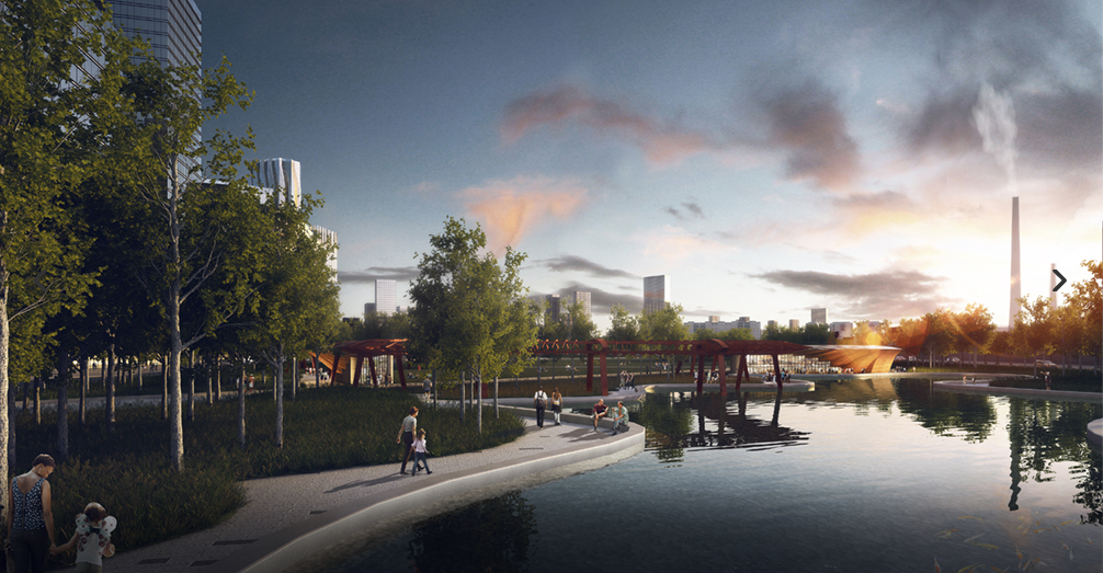 Строительство двух новых парков началось в Москве. Фото mos.ru