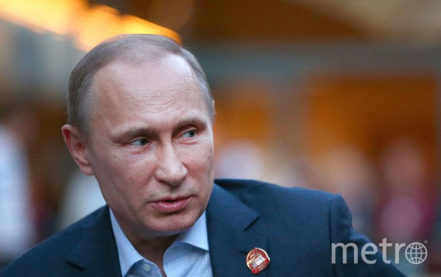 Владимир Путин, президент России. Фото Getty