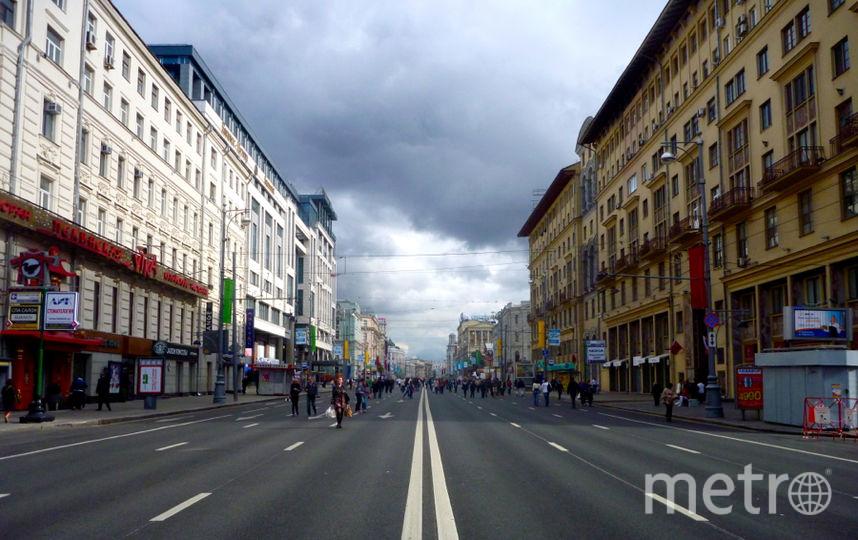 Тверская улица. Москва. Фото Wikipedia/Mikhail (Vokabre) Shcherbakov