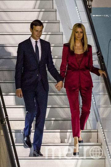 Иванка Трамп и Джаред Кушнер. Фото AFP