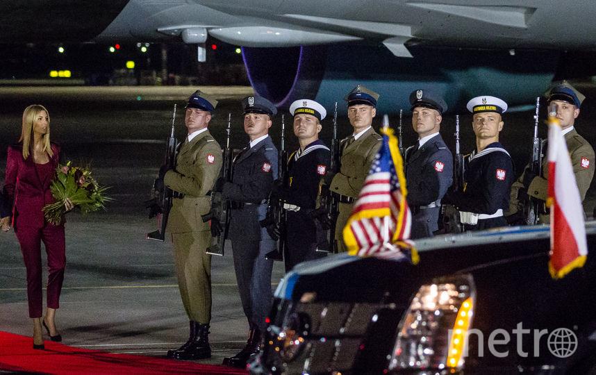 Президент США Дональд Трамп прибыл с визитом в Польшу. Фото AFP