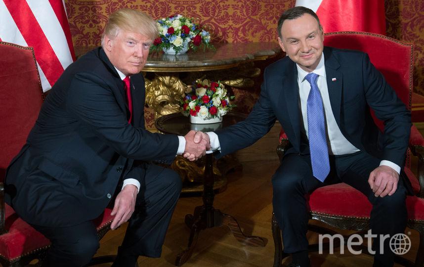 Дональд Трамп и Анджей Дуда. Фото AFP