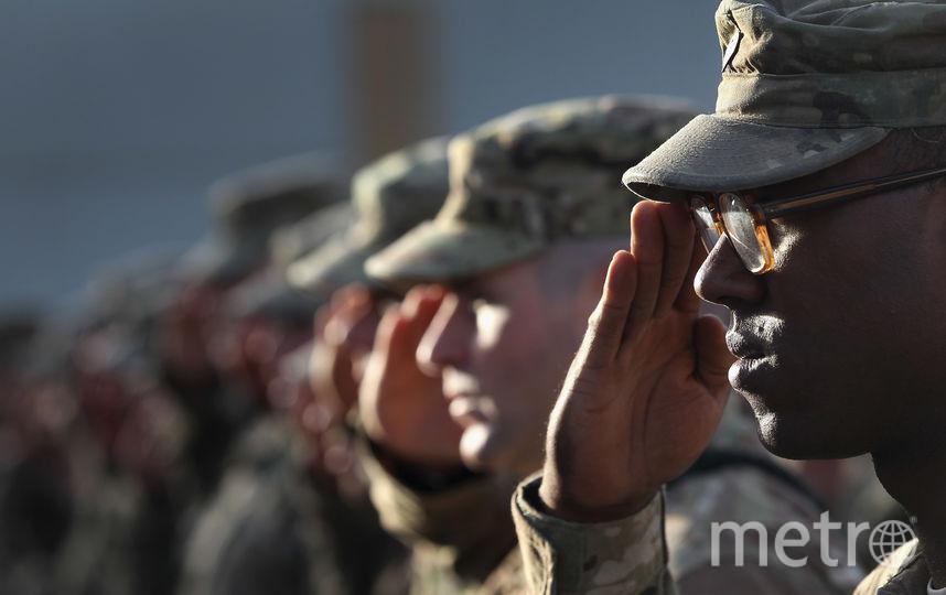 Вооружённые силы США. Фото Getty