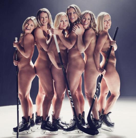 Хоккеистки сборной США. Фото www.instagram.com/moniquelam7