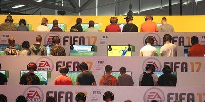 Игроки в FIFA-2017. Фото Getty