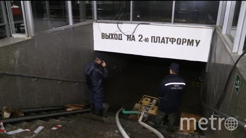 МЧС Ульновска докладывает об устранении последствий непогоды.