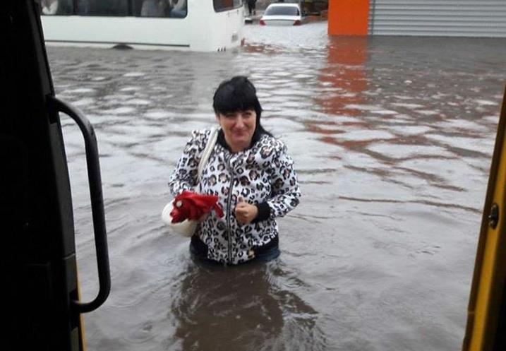 Потоп в Ульяновске.