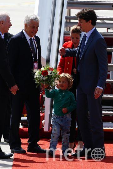 """Маленький сын Джастина Трюдо стал настоящей """"бомбой"""" в соцсетях. Фото Getty"""