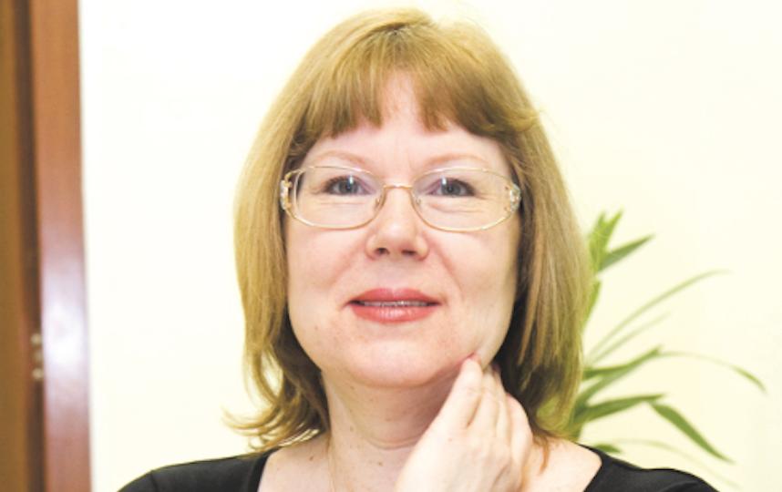 "Елена Колядина, журналиста, писатель. Фото ""Metro"""