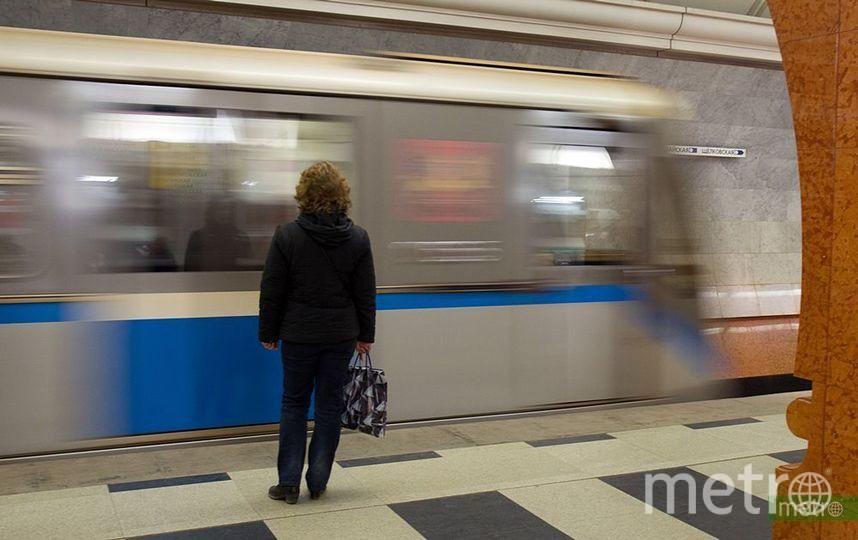 """На станции """"Театральная"""" московского метро на рельсы упал мужчина. Фото Василий Кузьмичёнок, """"Metro"""""""