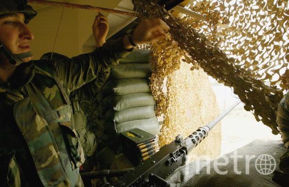 Войска Азербайджана нанесли удар по Карабаху. Фото Getty