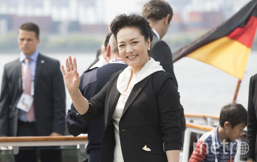 Жена Председателя КНР Си Цзиньпина, Пэн Лиюань. Фото Getty