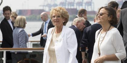 Кристиан Фризинг и Эмануэла Мауро. Фото Getty