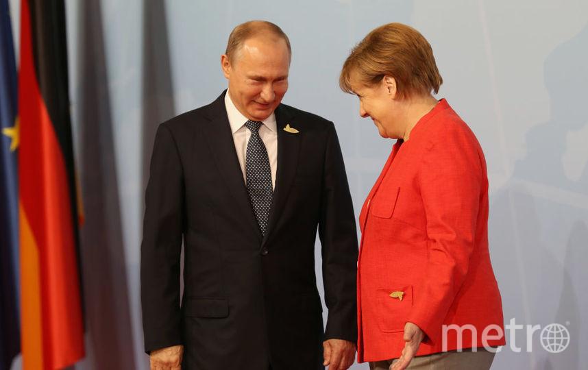В Гамбурге проходит саммит G20. Фото Getty