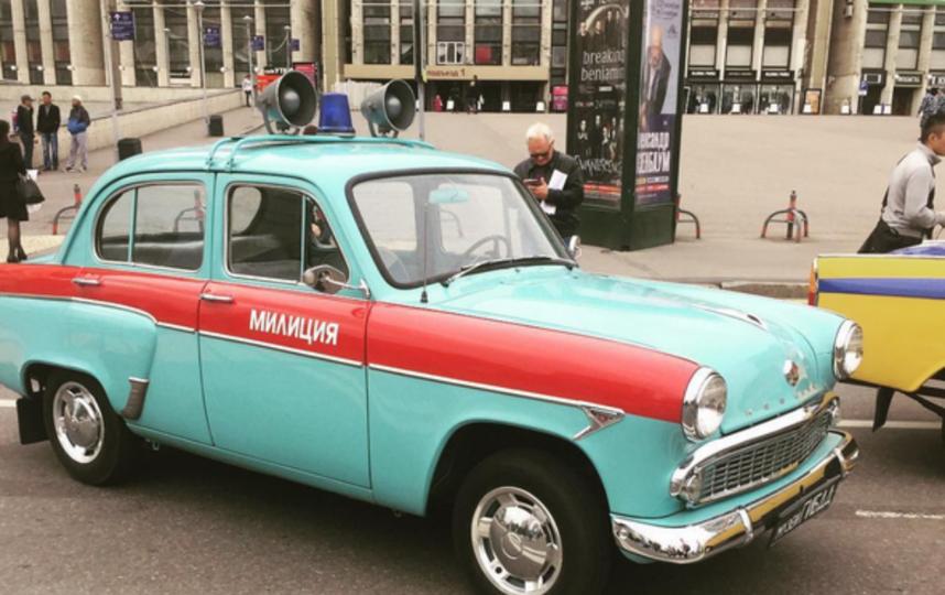 В Москве проходит день транспорта. Фото Все - скриншот Instagram