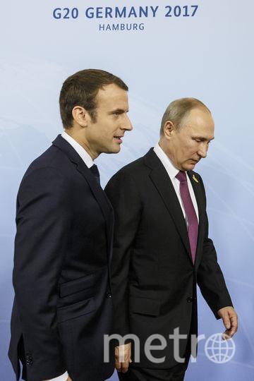Путин, Меркель и Макрон провели переговоры в рамках саммита G 20. Фото Getty