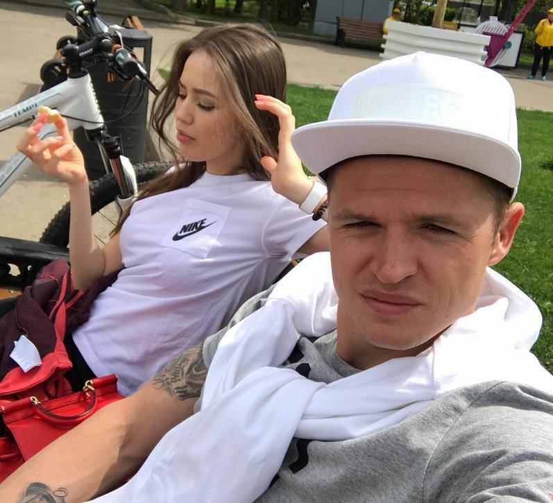 Дмитрий Тарасов и Анастасия Костенко - фотоархив.