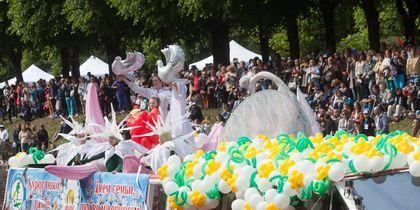 В Петербурге прошел Речной карнавал.