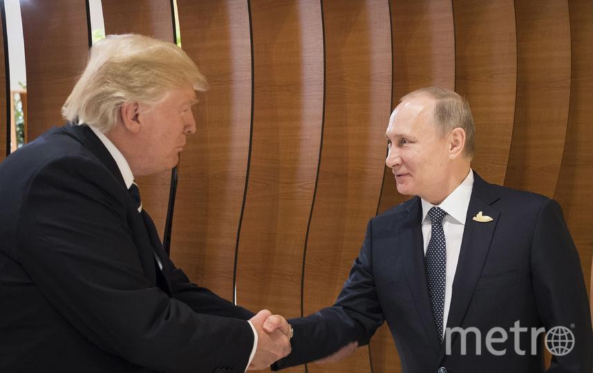 Встреча Путина и Трампа в рамках саммита G20. Фото Getty