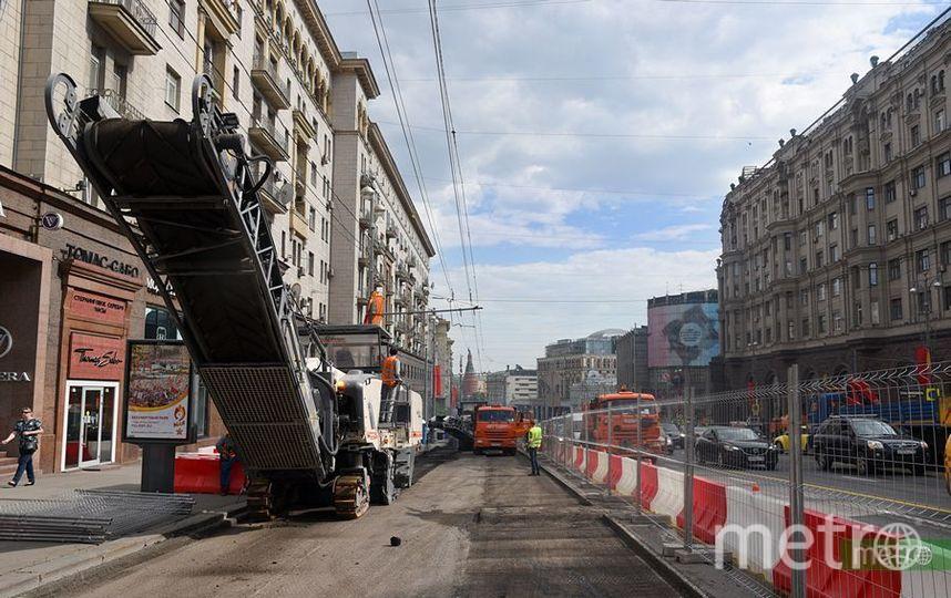 """Ремонтные работы. Фото Василий Кузьмичёнок, """"Metro"""""""
