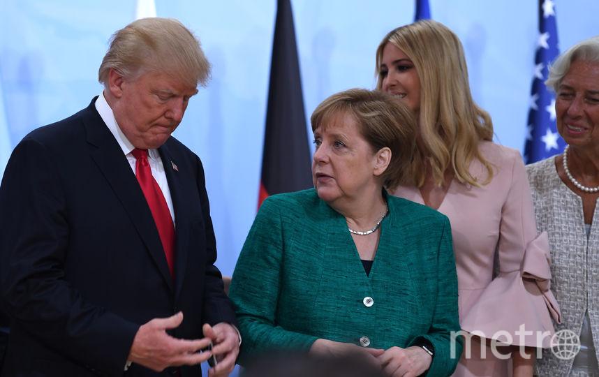 Иванка Трамп на G20. Фото AFP