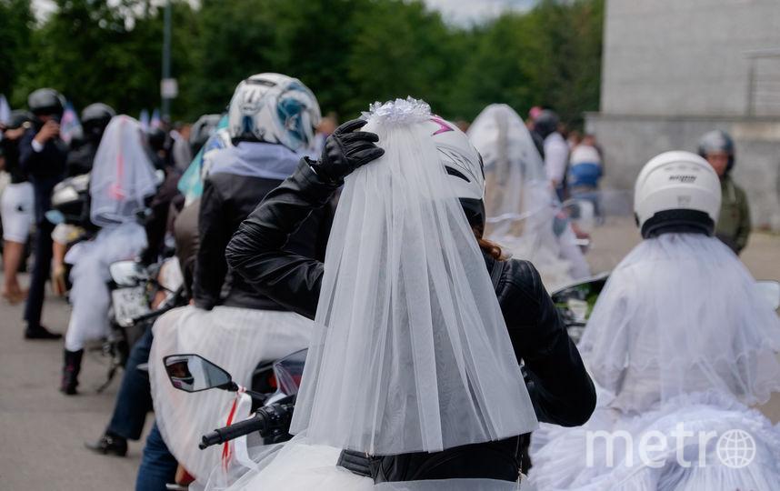 Парад мотоневест - 2017.