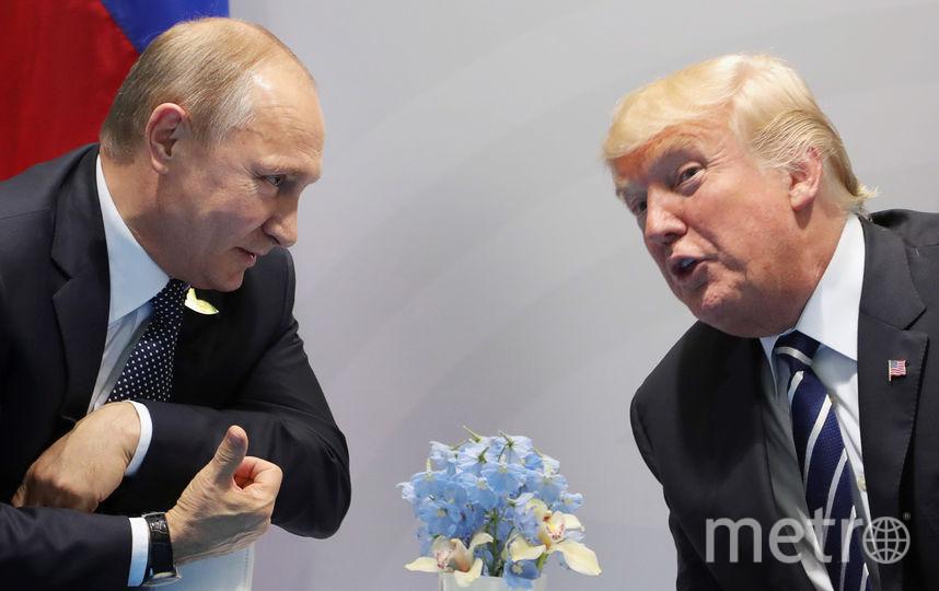 Встреча Дональда Трампа и Владимира Путина. Фото AFP