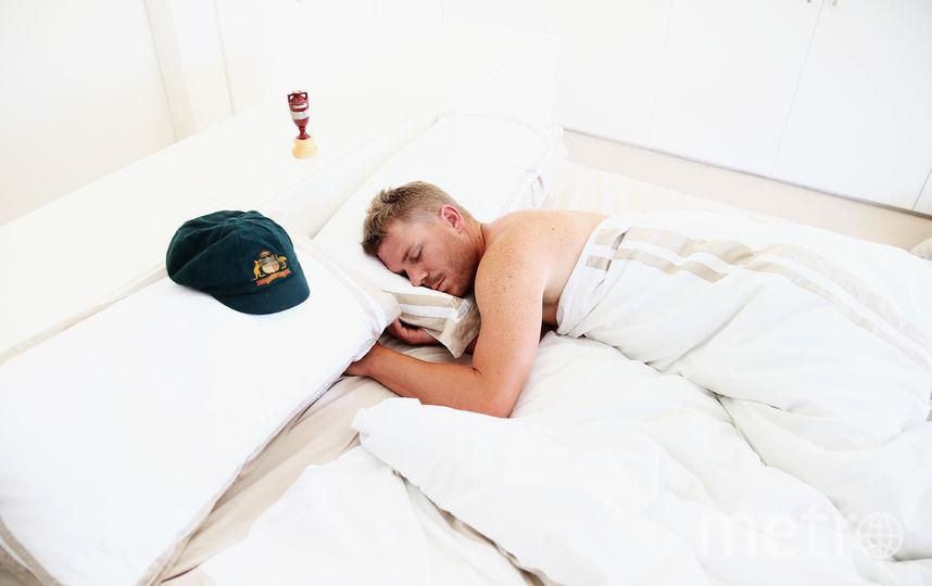Спящий человек. Фото Getty