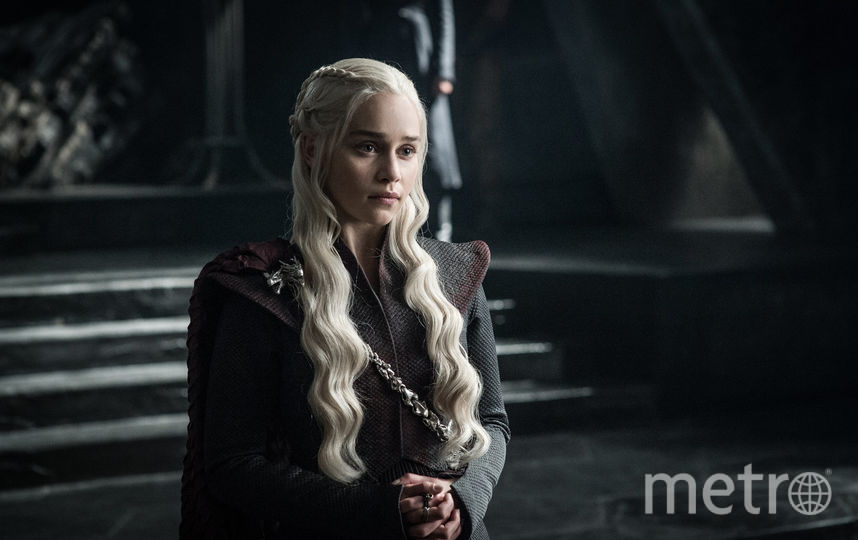 "Дейенерис Таргариен. Фото Кадр из сериала ""Игра престолов""."