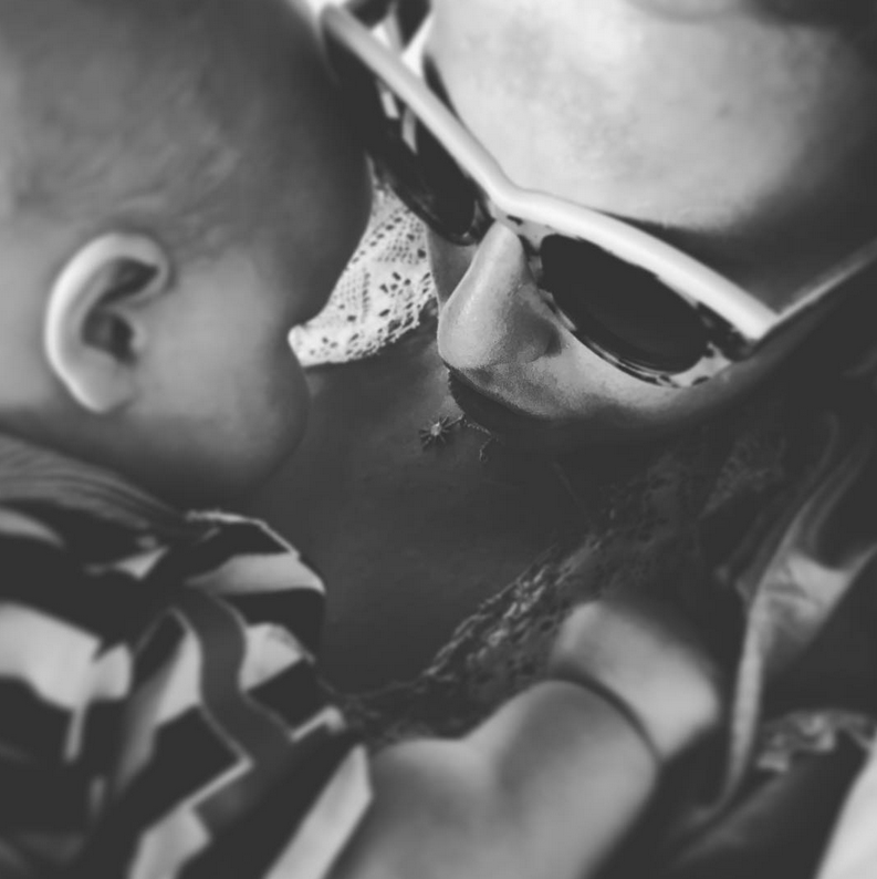 Ксения Собчак и Максим Виторган выложили новое фото сына.