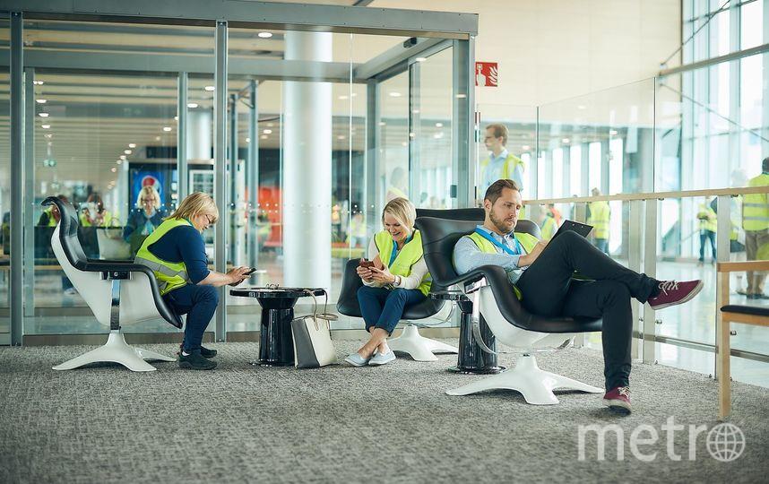 Новый терминал аэропорта Хельсинки. Фото представлены Finavia