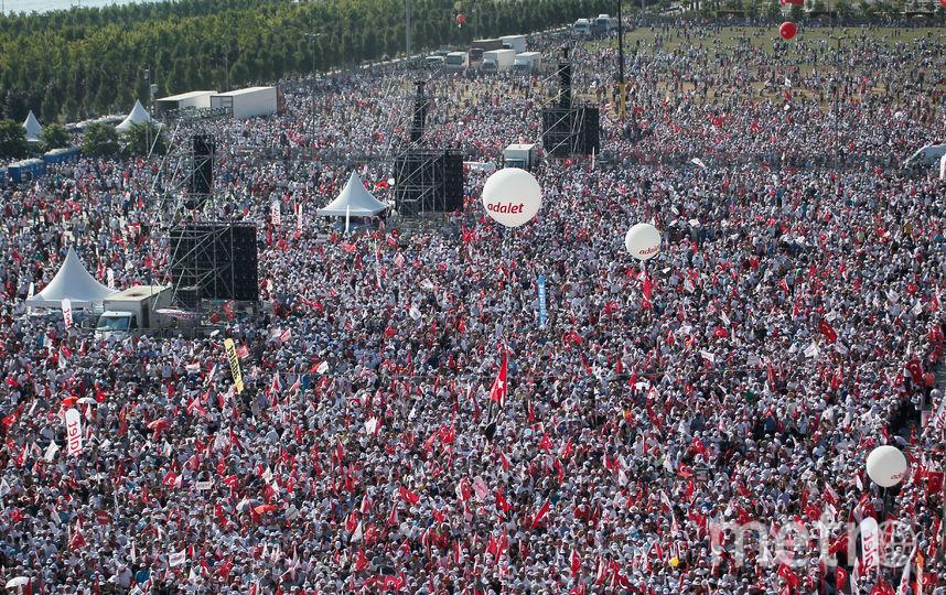 Протесты в Турции. Фото AFP